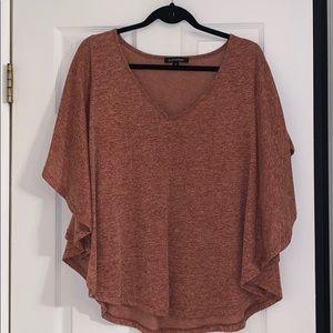 Batwing flowy blouse